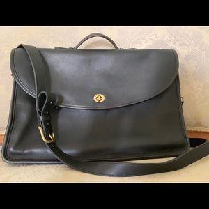 Vintage Coach leather satchel / briefcase